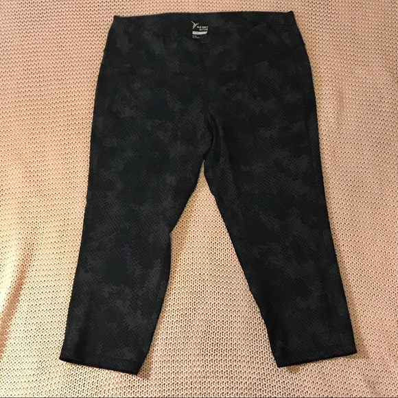 Old Navy Active Capris XL NWOT